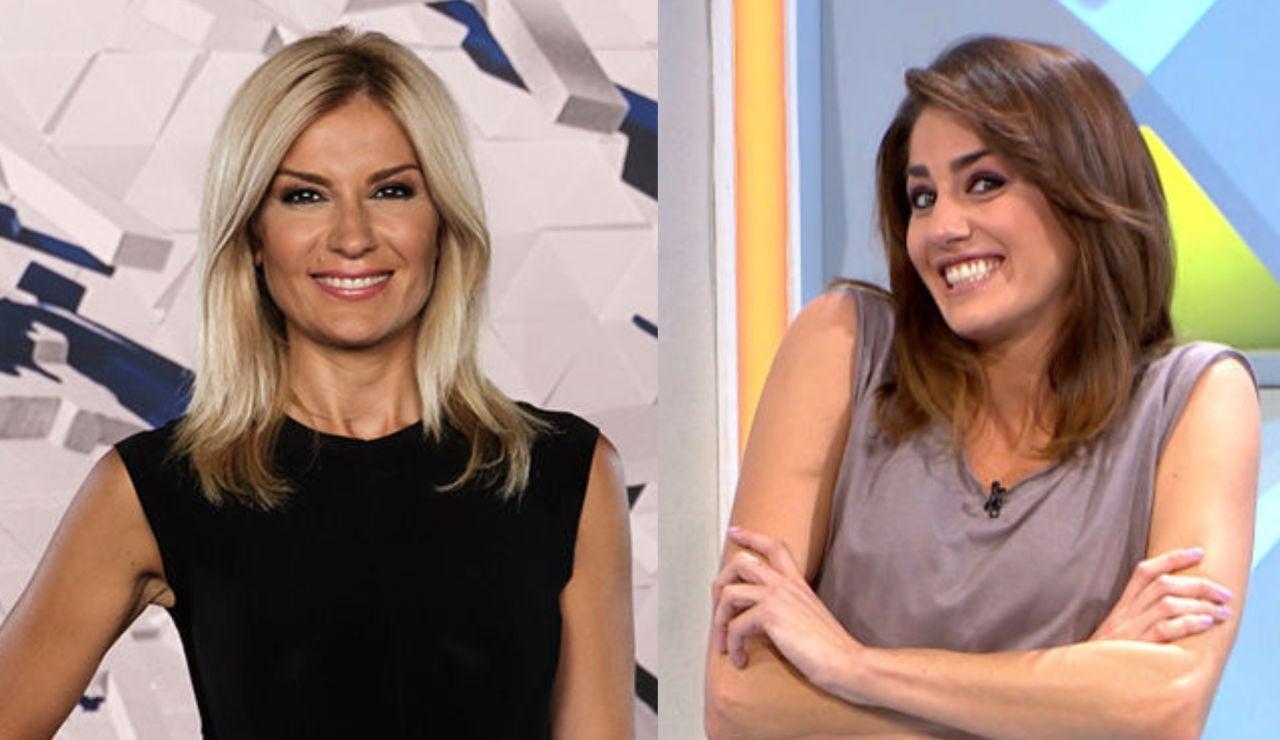 Sandra Golpe y Laura Moure