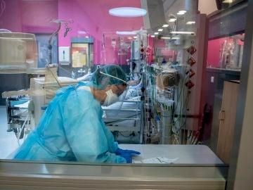 Imagen de un laboratorio de tratamiento del coronavirus