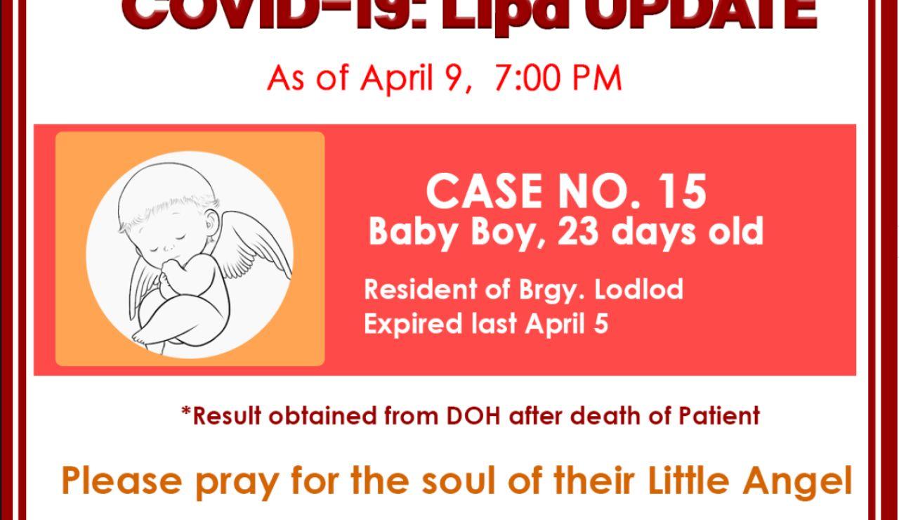 Bebé fallecido en Filipinas