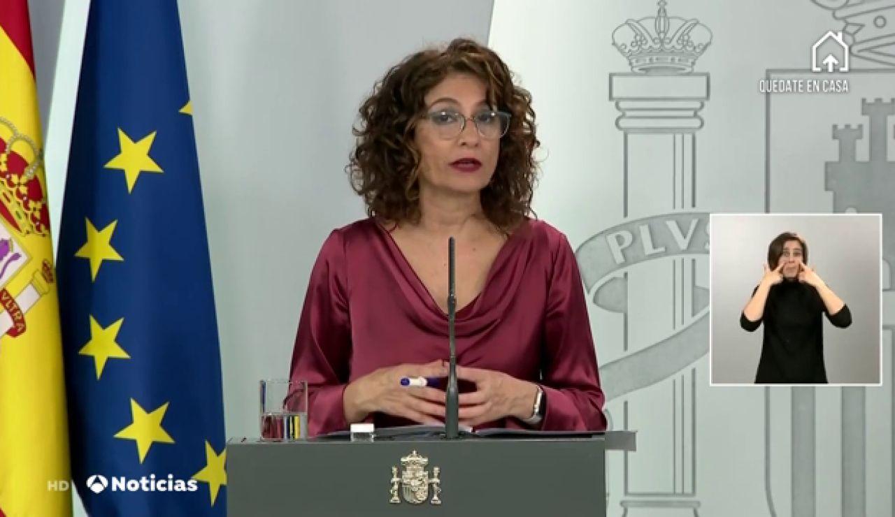 """María Jesús Montero, sobre los pactos de la Moncloa: """"Quien no participe evidenciará que el país no puede contar con ellos"""""""