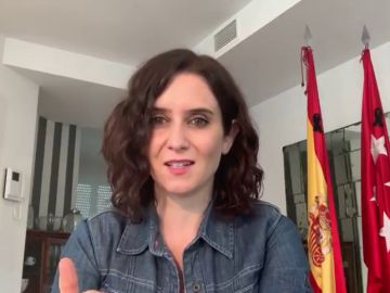 """Isabel Díaz Ayuso recibe el alta por coronavirus: """"Ya puedo decir que he superado el COVID-19"""""""