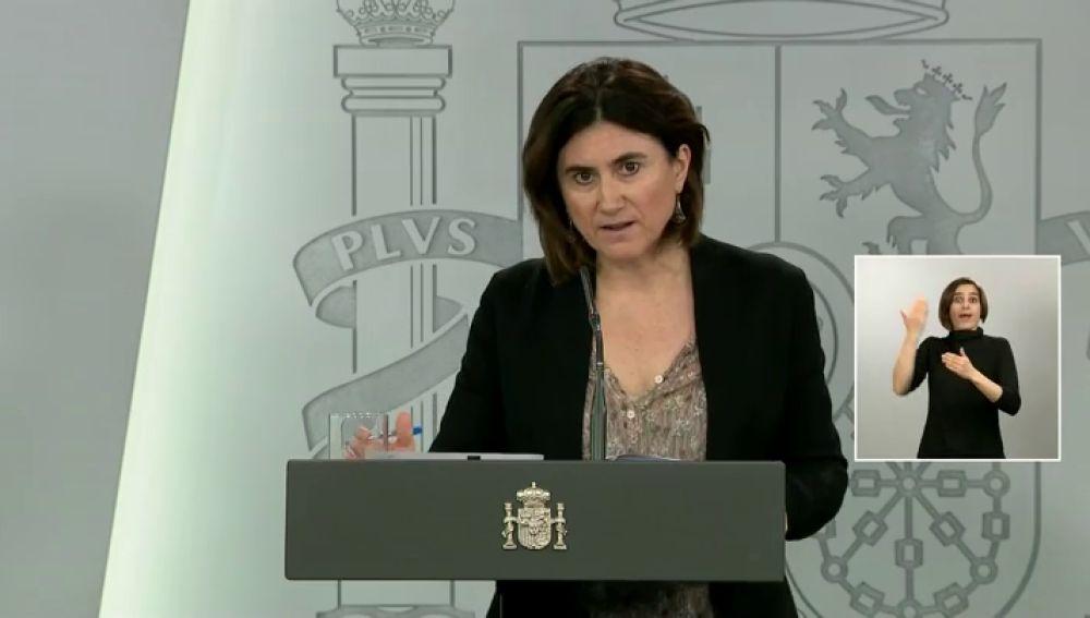 María José Sierra, portavoz del Comité Técnico