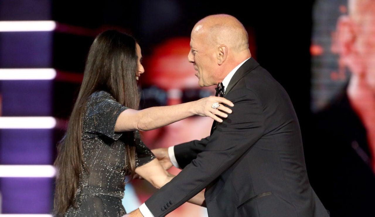 Demi Moore y Bruce Willis