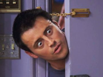 Matt LeBlanc como Joey en 'Friends'