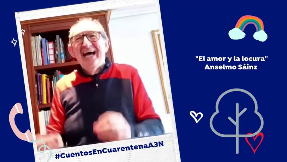"""Cuentos en cuarentena contra el coronavirus en Antena 3 Noticias: """"El amor y la locura"""""""