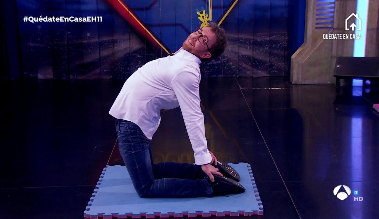 El culpable de introducir el yoga en la vida de Pablo Motos