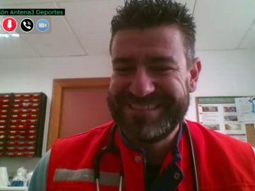 El entrenador Fernando Estévez, de los banquillos a la primera línea de la lucha contra el coronavirus