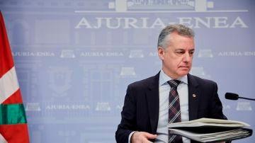 Imagen de archivo de Íñigo Urkullu, lehendakari del País Vasco