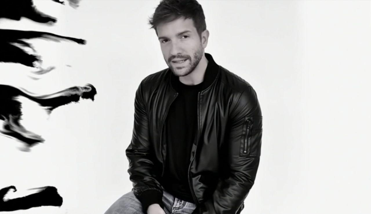 Pablo Alborán en el vídeo de 'Cuando estés aquí'