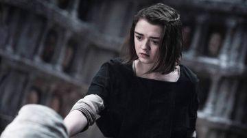 Maisie Williams como Arya Stark en 'Juego de Tronos'
