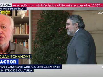 """""""El tono que utilicé con el ministro Rodríguez Uribes no se debe utilizar, me pasé 100 pueblos"""""""