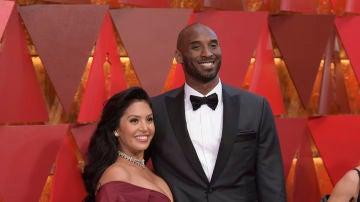 Kobe Bryant y su mujer Vanessa Bryant
