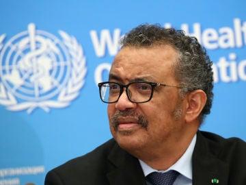 Tedros Adhanom, director general de la Organización Mundial de la Salud (OMS)