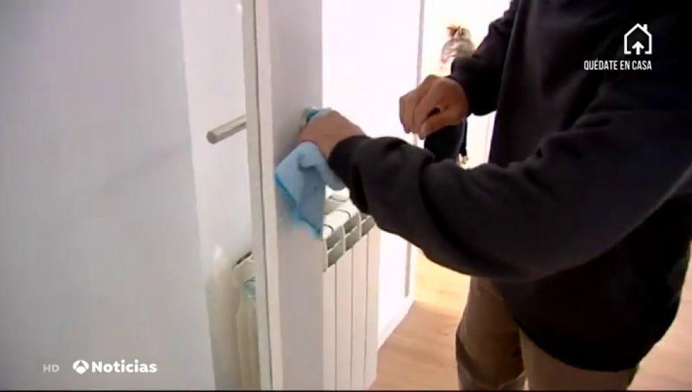 Limpieza en casa contra el coronavirus