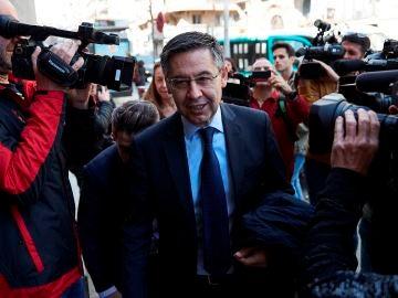 El presidente del FC Barcelona, Josep Maria Bartomeu