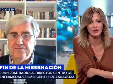 """Juan José Badiola: """"No creo que estemos confinados hasta junio"""""""
