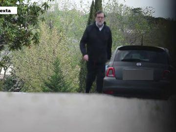 Mariano Rajoy incumple el confinamiento por coronavirus y sale a hacer ejercicio