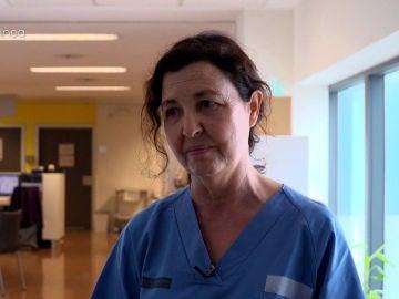 El duro momento de una doctora al comunicar a una paciente que su marido se había muerto