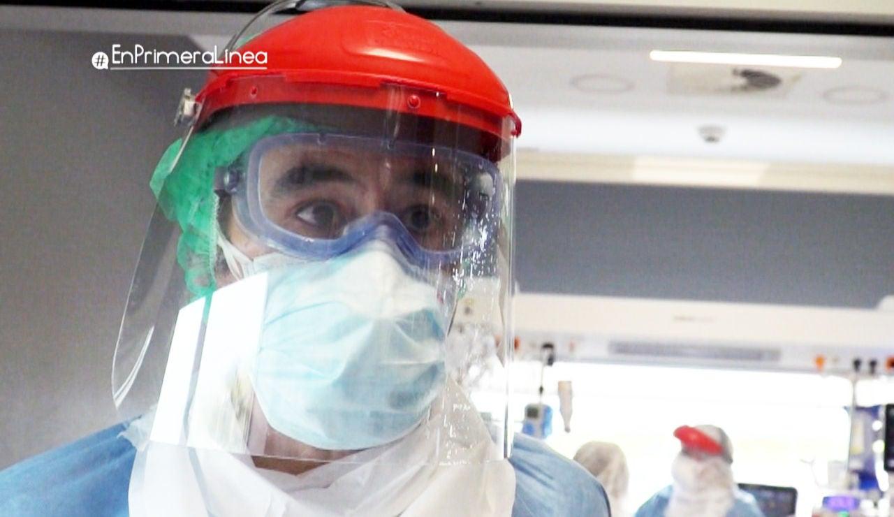 """El momento crítico de una intubación: """"Son pacientes que te están pidiendo aire, están muriendo asfixiados"""""""