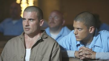 Wentworth Miller y Dominic Purcell en 'Prison Break'