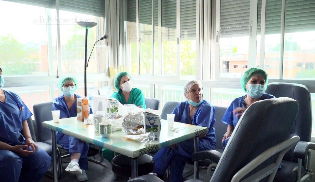 """La impotencia de las enfermeras durante las primeras semanas: """"Nos venía grande a todos"""""""