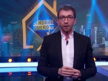 La aplaudida crítica de Pablo Motos a Pedro Sánchez por su gestión de la crisis del coronavirus