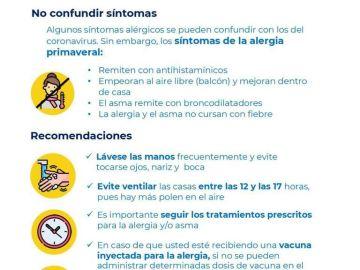 Guía Alergias del Ministerio de Sanidad