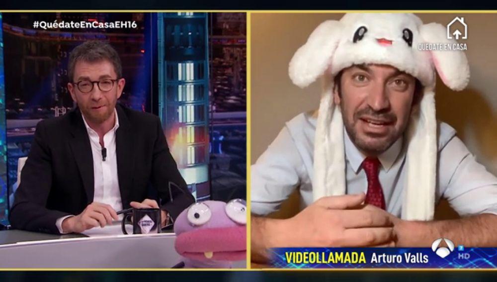 Revive la entrevista al completo de Arturo Valls en 'El Hormiguero 3.0: quédate en casa'