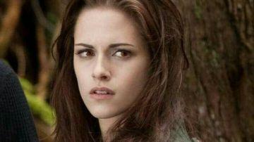 Kristen Stewart como Bella en la saga 'Crepúsculo'