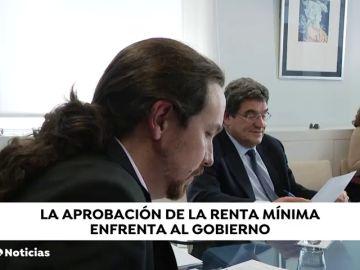 Interviene Pedro Sánchez  por las prisas de Pablo Iglesias y las dudas de Escrivá sobre el ingreso mínimo vital