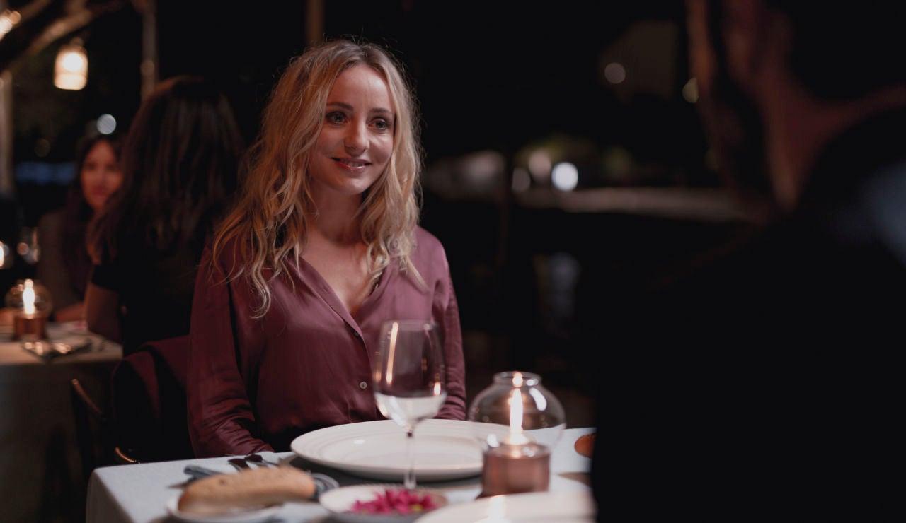 Laura, en la polémica cena con Xavier