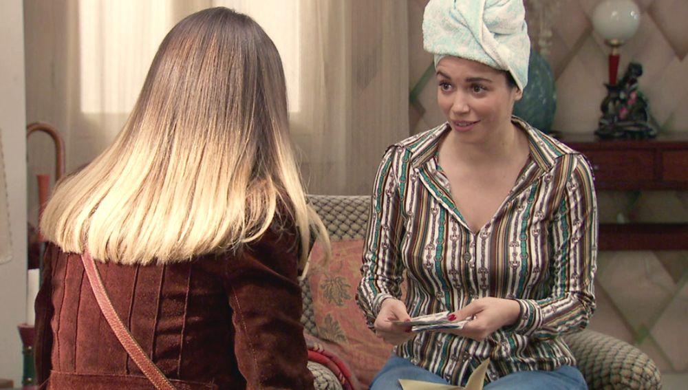 El emotivo gesto de Luisita que deja a Amelia sin palabras