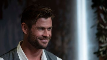 Chris Hemsworth en una de sus últimas apariciones públicas