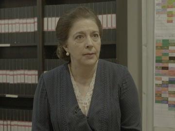 ¿Cuál fue la primera secuencia de María Bouzas en 'El secreto de Puente Viejo'?