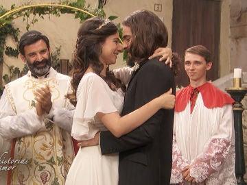 ¡El amor todo lo puede! Así fue la emotiva boda entre Elsa e Isaac