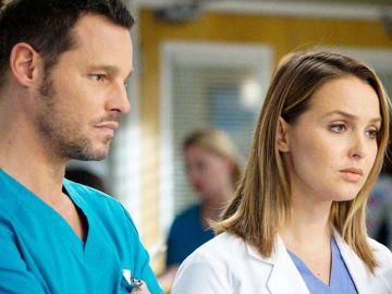 Alex Karev y Jo Wilson en 'Anatomía de Grey'