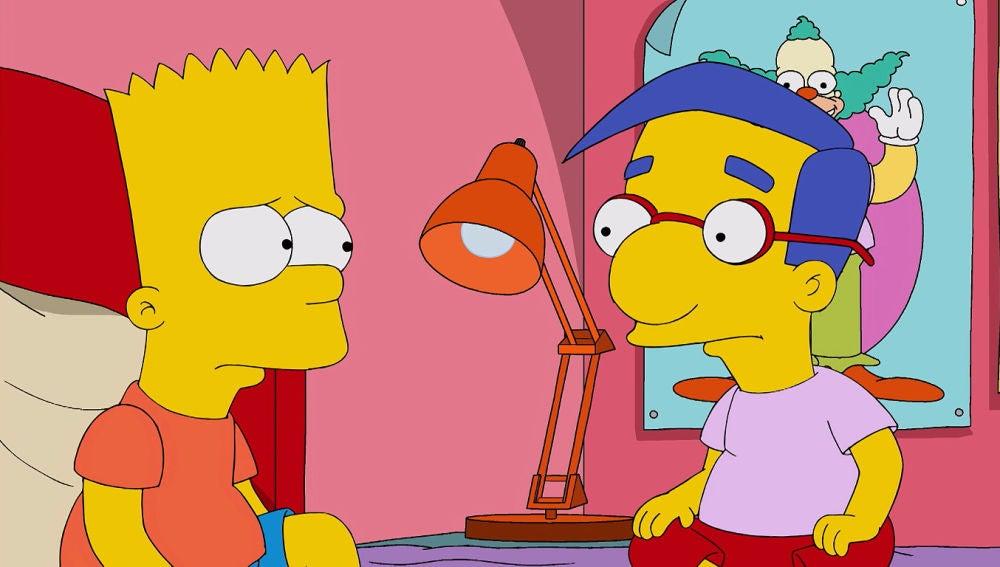 Bart y Milhouse