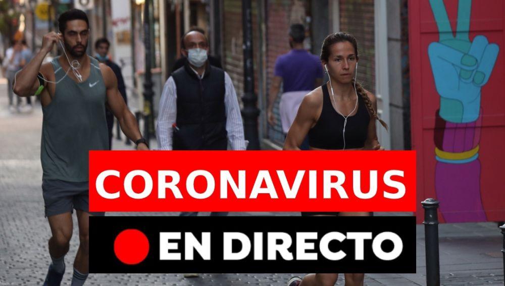 Coronavirus España: Desescalada y última hora de hoy domingo 3 de mayo, en directo