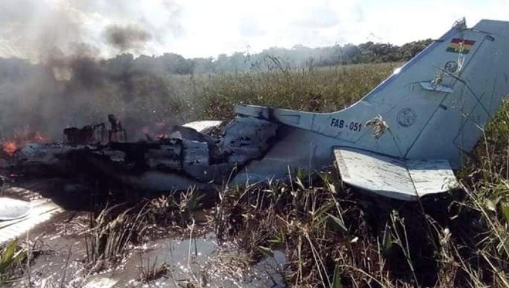 Accidente de avioneta en Bolivia donde han muerto seis personas