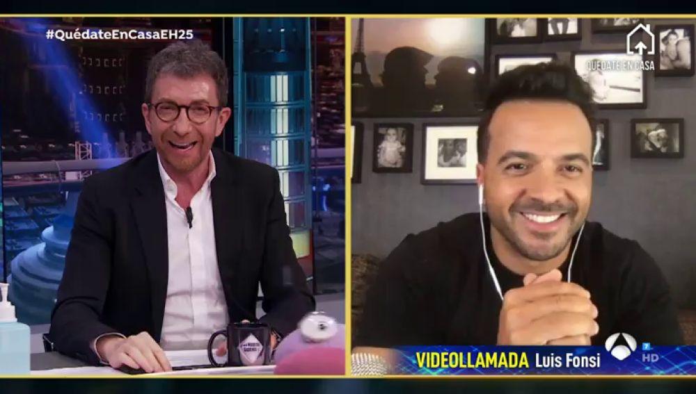 Revive la entrevista de Luis Fonsi en 'El Hormiguero 3.0: Quédate en casa'