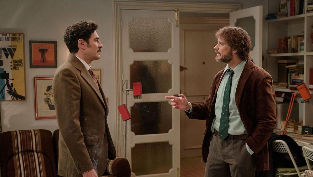 Armando se cuela en casa de Guillermo para darle un ultimátum