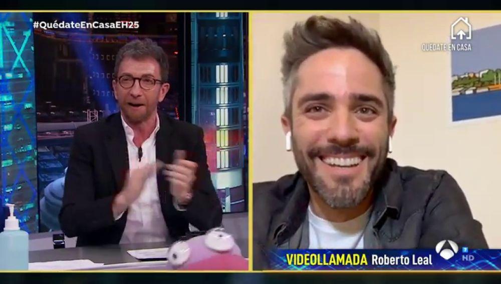 Disfruta de la entrevista al completo de Roberto Leal en 'El Hormiguero 3.0: Quédate en casa'