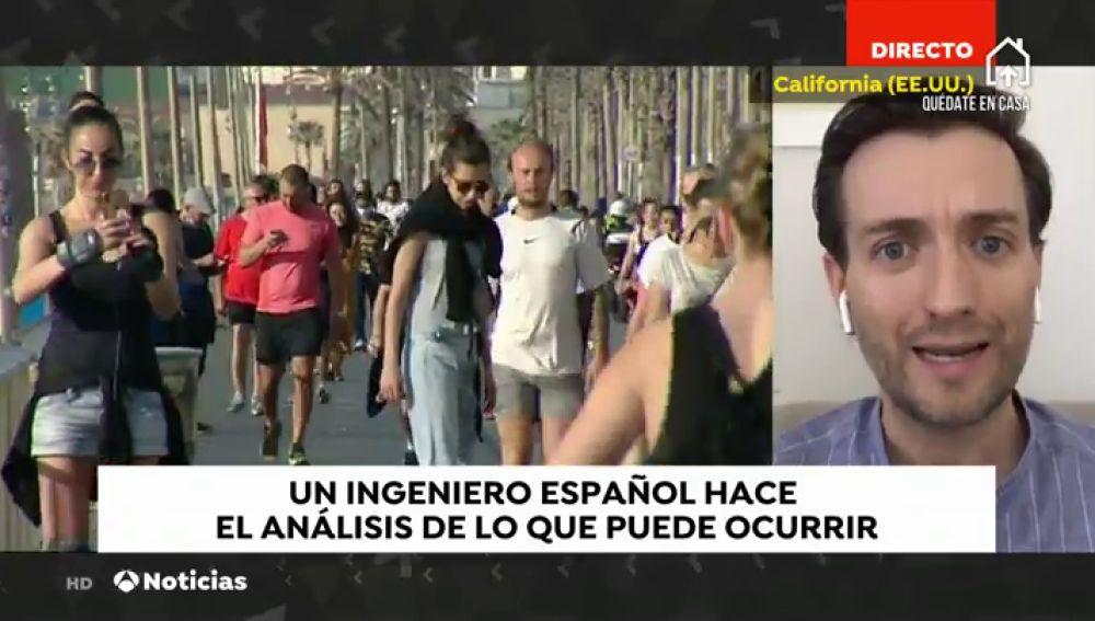 """Tomas Pueyo, ingeniero español en Sillicon Valley: """"El desconfinamiento por fases es probablemente la mejor parte del plan del Gobierno"""""""