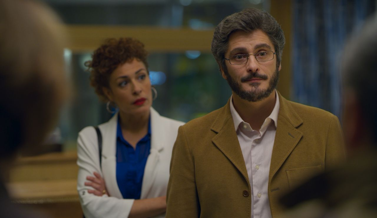 Antonio Pagudo y María Almudéver, protagonistas de 'Benidorm'