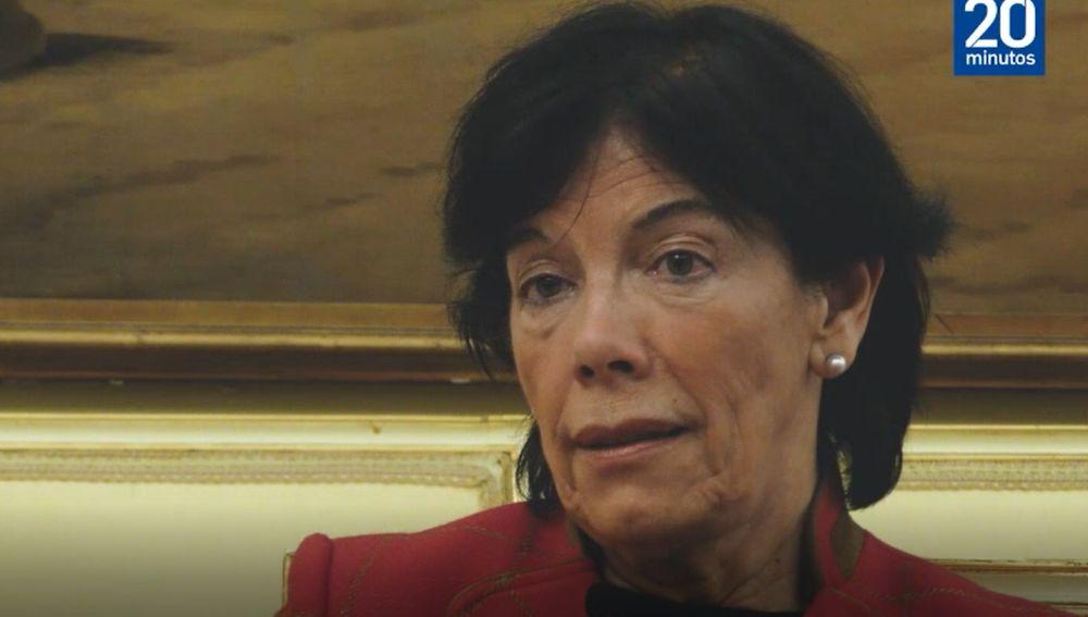 La ministra Celaá