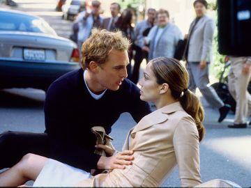 Matthew McConaughey y Jennifer Lopez en 'Planes de boda'