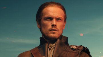 Sam Heughan como Jamie Fraser en la temporada 5 de 'Outlander'