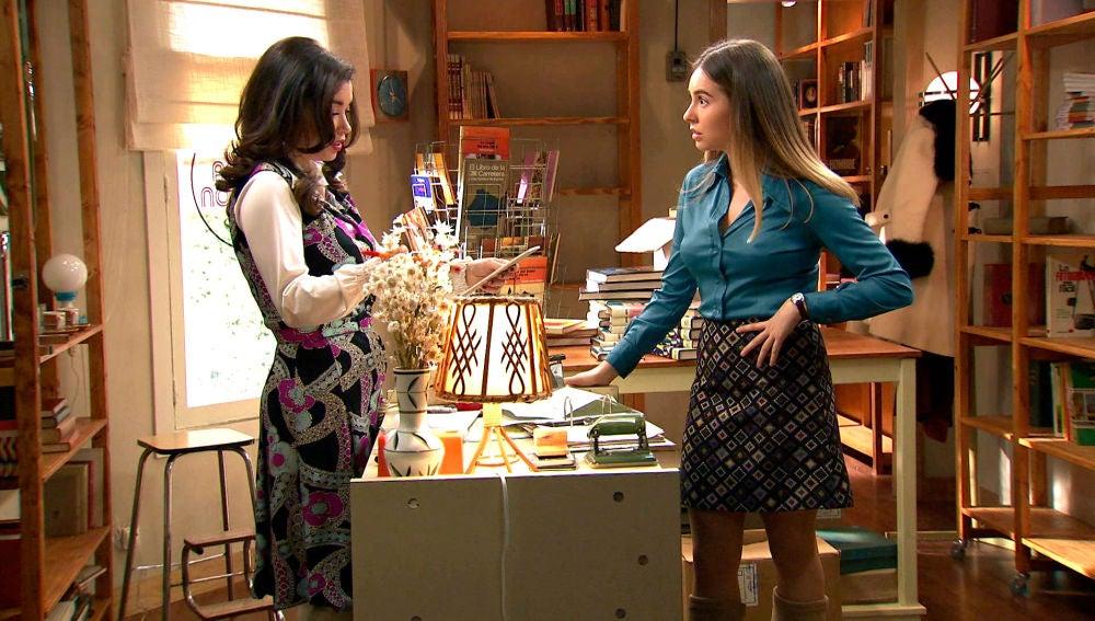 El grave despiste de Amelia que enfada a Luisita y las pondrá en peligro
