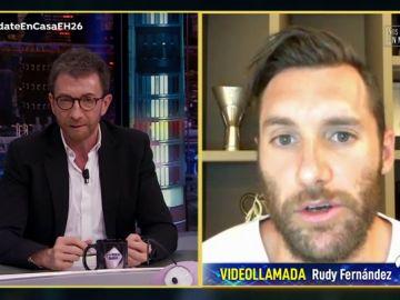 Rudy Fernández explica en 'El Hormiguero 3.0' cómo será el regreso del deporte profesional