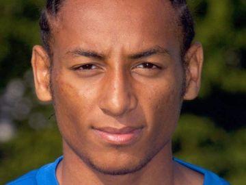 El futbolista Hiannick Kamba